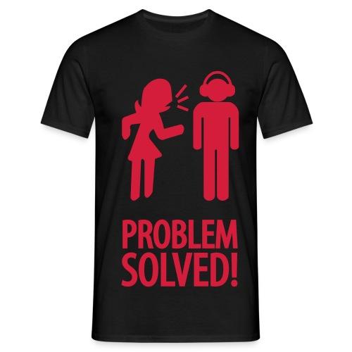Problem Solved - Mannen T-shirt