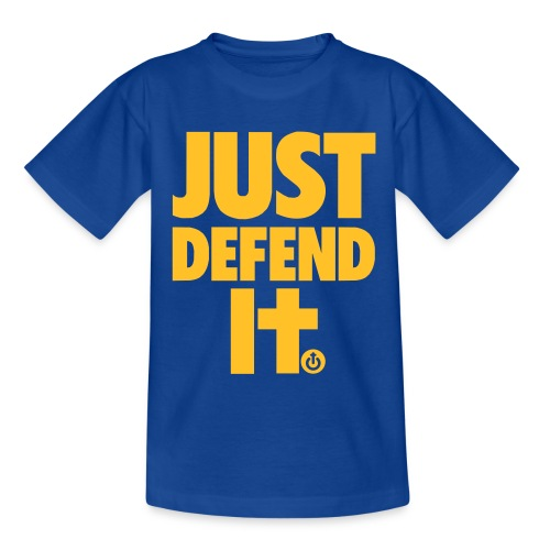 Just Defend It Niño - Camiseta niño