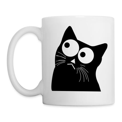 Interested Cat - Mug