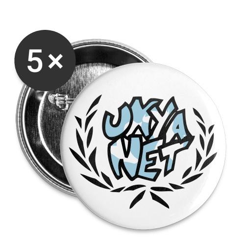 UNYANET Support Buttons - Buttons medium 1.26/32 mm (5-pack)