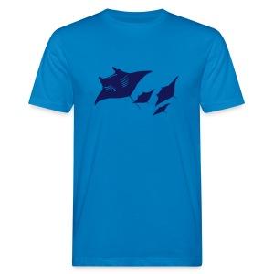 tier t-shirt manta ray rochen taucher tauchen scuba diving dive - Männer Bio-T-Shirt