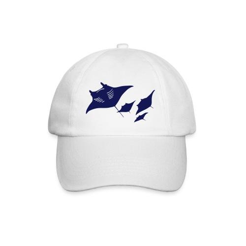 tier t-shirt manta ray rochen taucher tauchen scuba diving dive - Baseballkappe