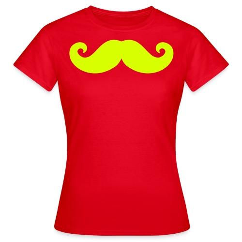 Laughing Teecakes - Moustache T-Shirt - Women's - Women's T-Shirt