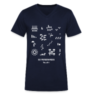 Tee shirts ~ Tee shirt Homme col V ~ T-shirt-jeu 53·personnages