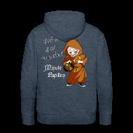 Sweat-shirts ~ Sweat-shirt à capuche Premium pour hommes ~ Mini-Kriss - La fin du monde - Sweat Capuche