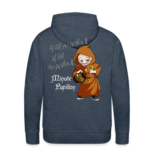 Mini-Kriss - La fin du monde - Sweat Capuche - Sweat-shirt à capuche Premium pour hommes