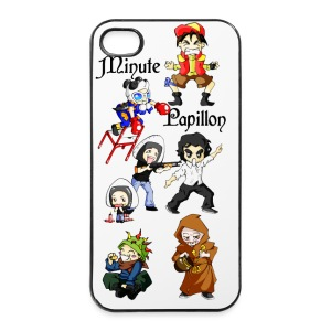 Coque Minute Papillon pour i phone 4 et 4S - Coque rigide iPhone 4/4s