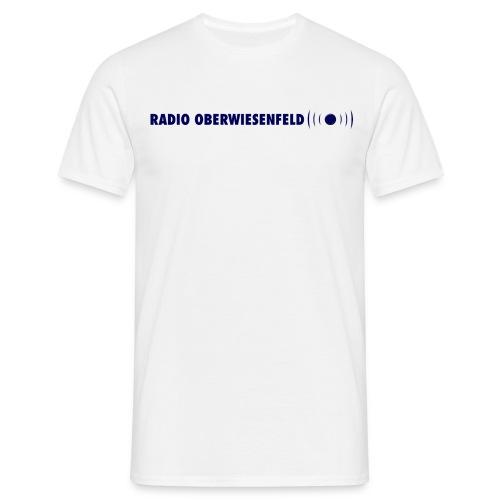 Klassisches Männer T-Shirt mit Schriftzug - Männer T-Shirt