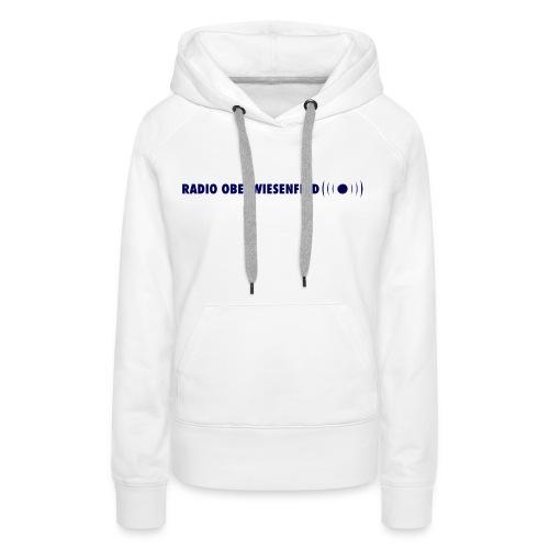 Frauen Kapuzen-Pulli mit Schriftzug - Frauen Premium Hoodie