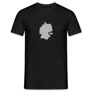 Deutschland Grafik (bis 1 - 3 Farben) - Männer T-Shirt
