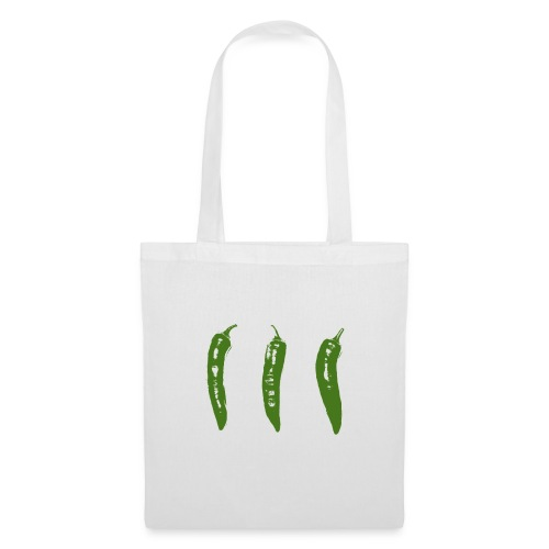 3 green chillies - Tote Bag