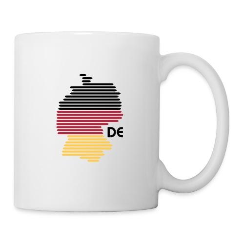 Deutschland Grafik (bis 1 - 3 Farben) - Tasse