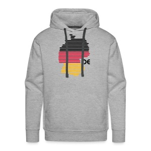 Deutschland Grafik - Männer Premium Hoodie