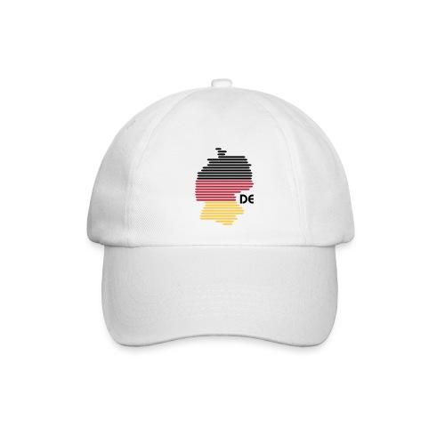 Deutschland Grafik (bis 1 - 3 Farben) - Baseballkappe