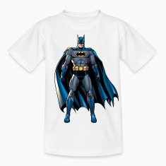 Batman Pose T-Shirt für Kinder, Superhelden T-Shirt