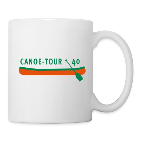 Canoe-Tour 40 Jahre - Tasse