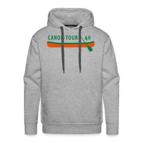 Canoe-Tour 40 Jahre - Männer Premium Hoodie