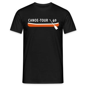 Canoe-Tour 40 Jahre - Männer T-Shirt