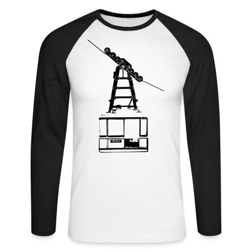 cable car - Men's Long Sleeve Baseball T-Shirt