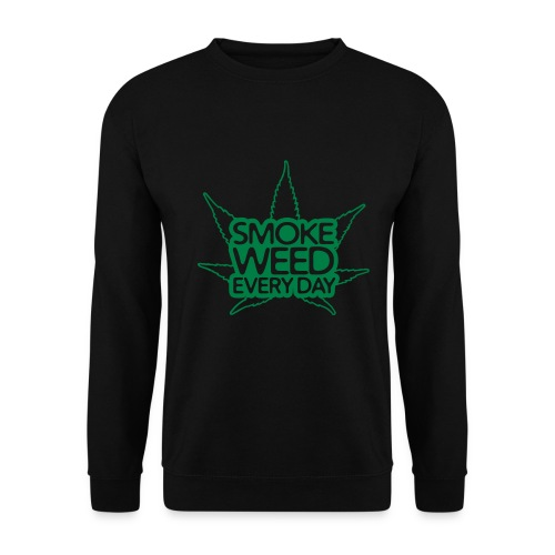 Smoke weed every day shirt - Mannen sweater