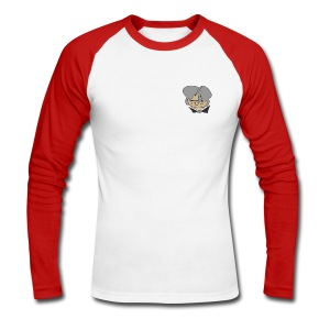 Graue Eminenz - Männer Baseballshirt langarm