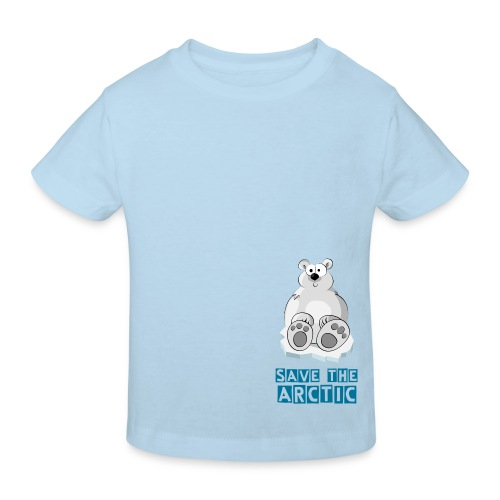 Save the Arctic - T-shirt bio Enfant