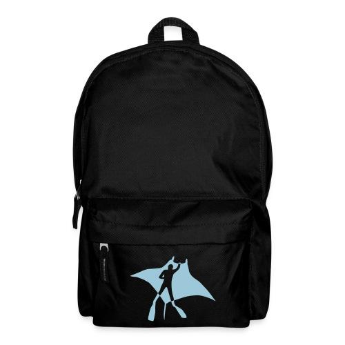 tier t-shirt manta ray rochen taucher tauchen scuba diving dive - Rucksack