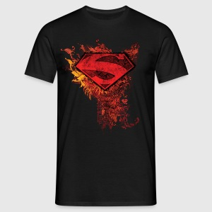 Tee-shirt Homme Superman S-Shield Ornate - T-shirt Homme