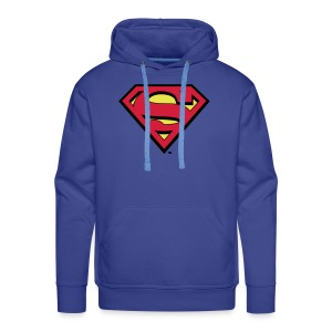 Sweat-shirt pour hommes Superman S-Shield en flex - Sweat-shirt à capuche Premium pour hommes