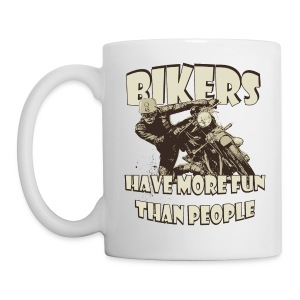 More fun than people - Mug