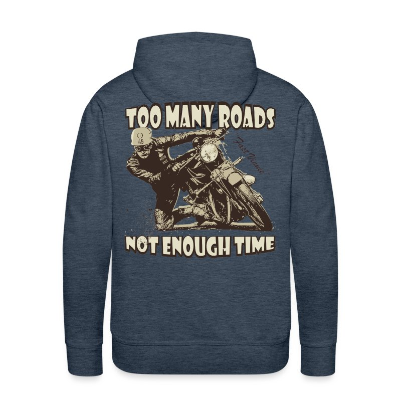 Too many roads - Men's Premium Hoodie