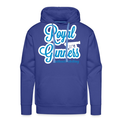 Royal Gunners authentic tag bleu royal  - Sweat-shirt à capuche Premium pour hommes