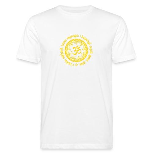 Maha Mrityunjaya Mantra - Männer Bio-T-Shirt