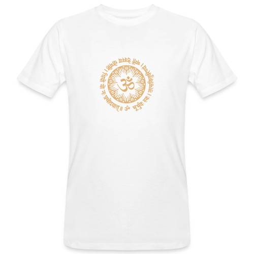 Gayatri Mantra - Männer Bio-T-Shirt