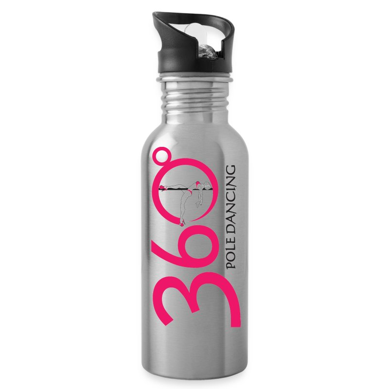 360 Pole Logo w/ Black Writing - Water Bottle
