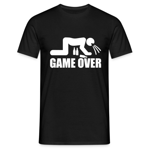 Drunk Over - T-shirt Homme