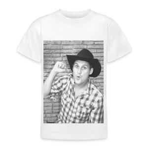 Neg B&W Potrait - Teenager T-Shirt - Teenage T-shirt
