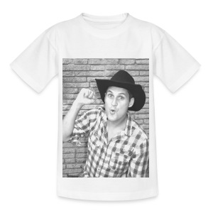 Neg B&W Potrait - Teenager T-Shirt - Teenage T-shirt