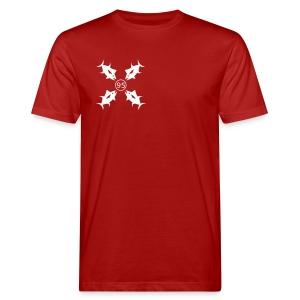 Four Tuna T-Shirts - Männer Bio-T-Shirt
