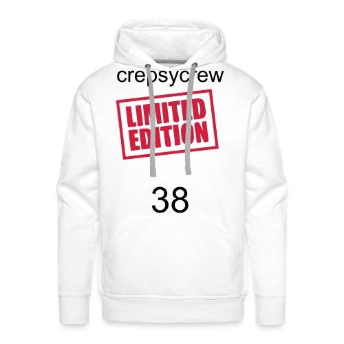 sweet crepsycrew model 1 - Sweat-shirt à capuche Premium pour hommes