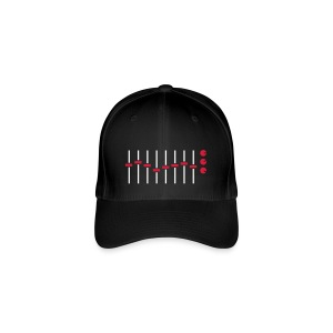 Equalizer - White/Red - Flexfit Baseball Cap