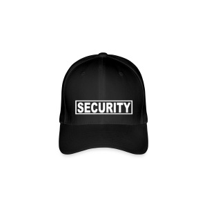 Security - White - Flexfit Baseball Cap
