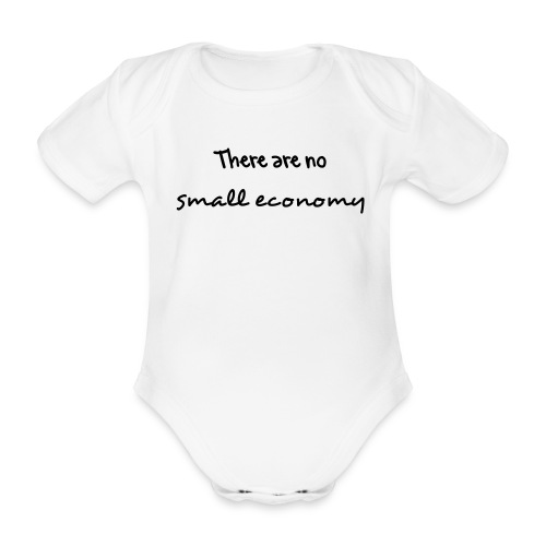 Baby Speak - Organic Short-sleeved Baby Bodysuit