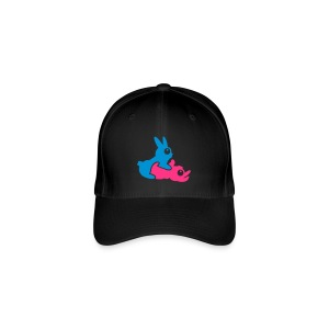 Rabbits- Blue/Pink - Flexfit Baseball Cap