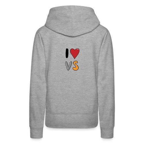 I Love VS  - Women's Premium Hoodie