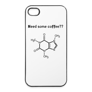Coffee Cover - iPhone 4/4s Hard Case