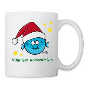 Kugelige Weihnachten - Tasse