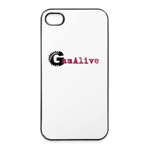 Logo GamAlive - Coque rigide iPhone 4/4s