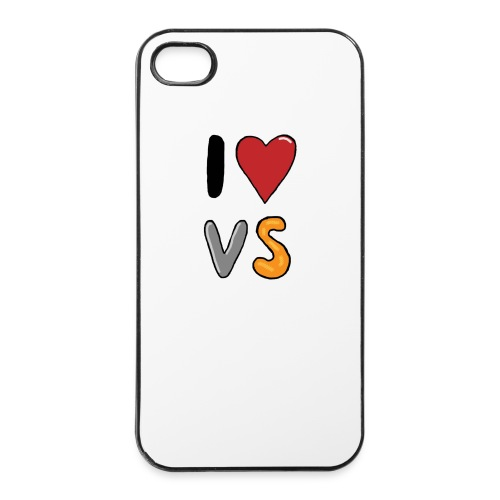 I Love VS  - iPhone 4/4s Hard Case