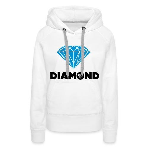 #Woman #Diamond #Sweater - Vrouwen Premium hoodie
